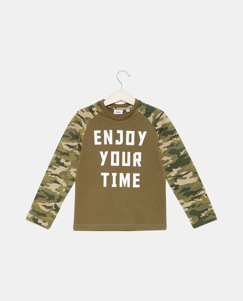 T-shirt con maniche militari bambino