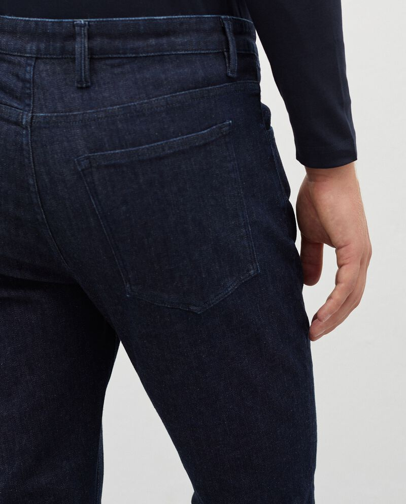 Jeans in cotone stretch regular fit uomo single tile 2