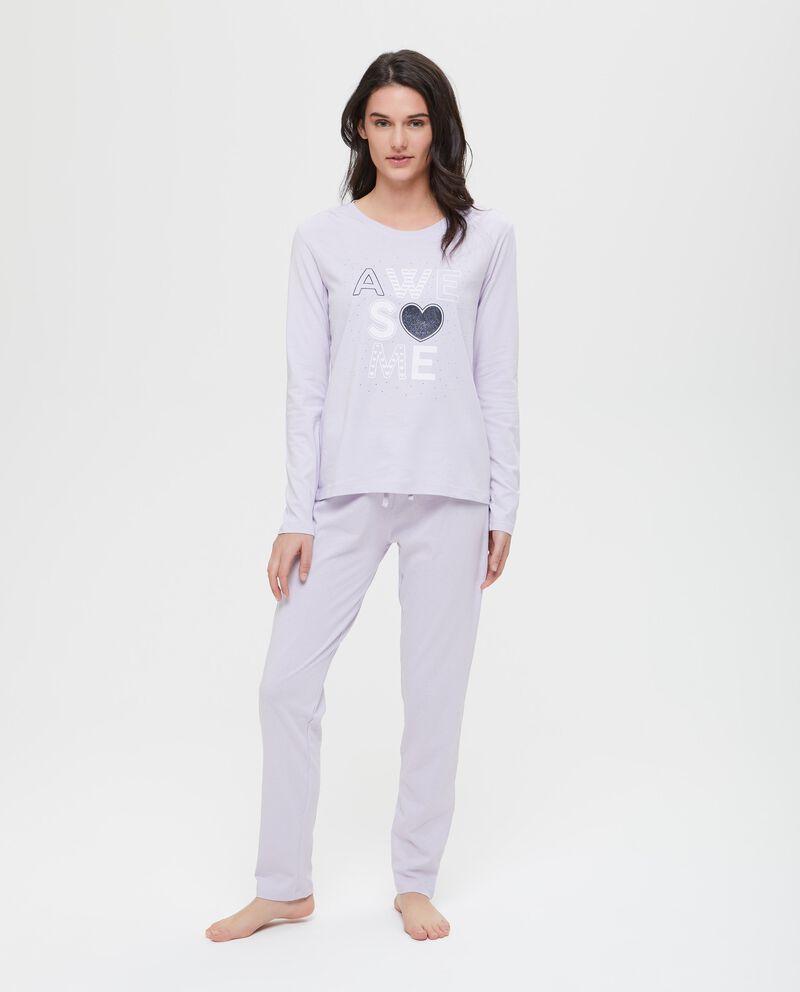 Set due maglie pigiama puro cotone