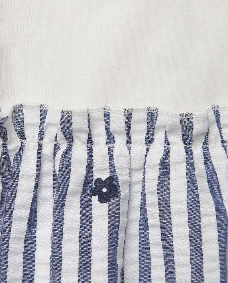 Completo di abito e mutandina in popeline di cotone MADE IN ITALY single tile 1