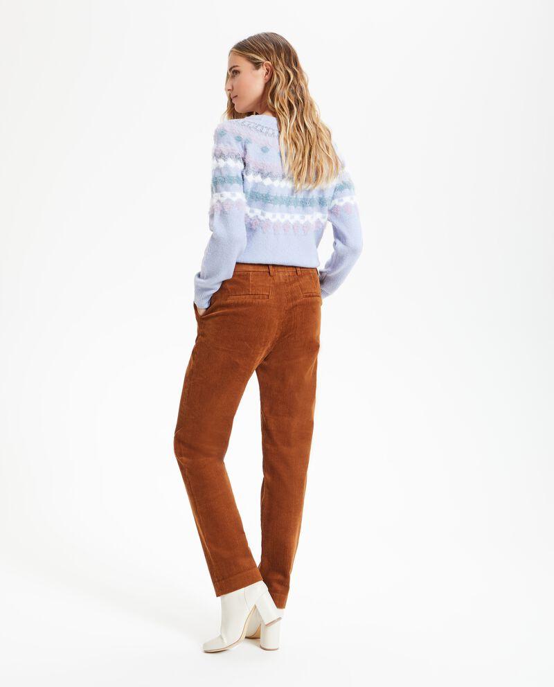 Pantalone millerighe donna