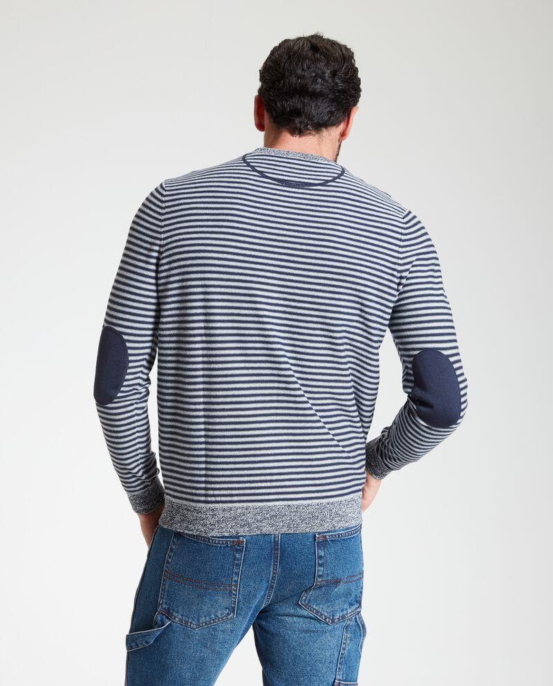 Maglione uomo a righe