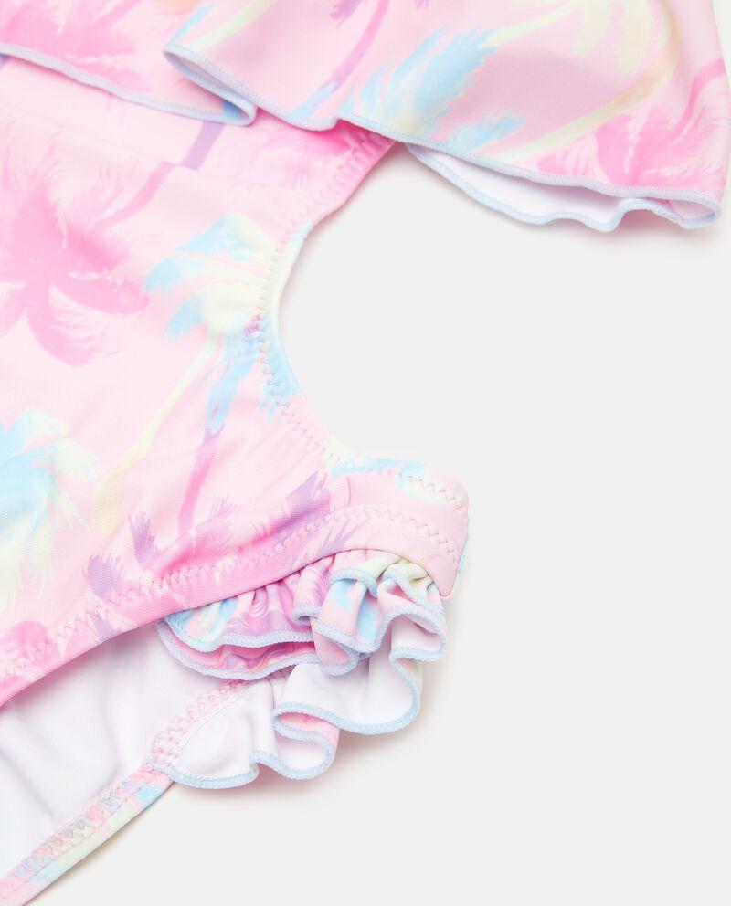 Costume intero trikini stampato ragazza