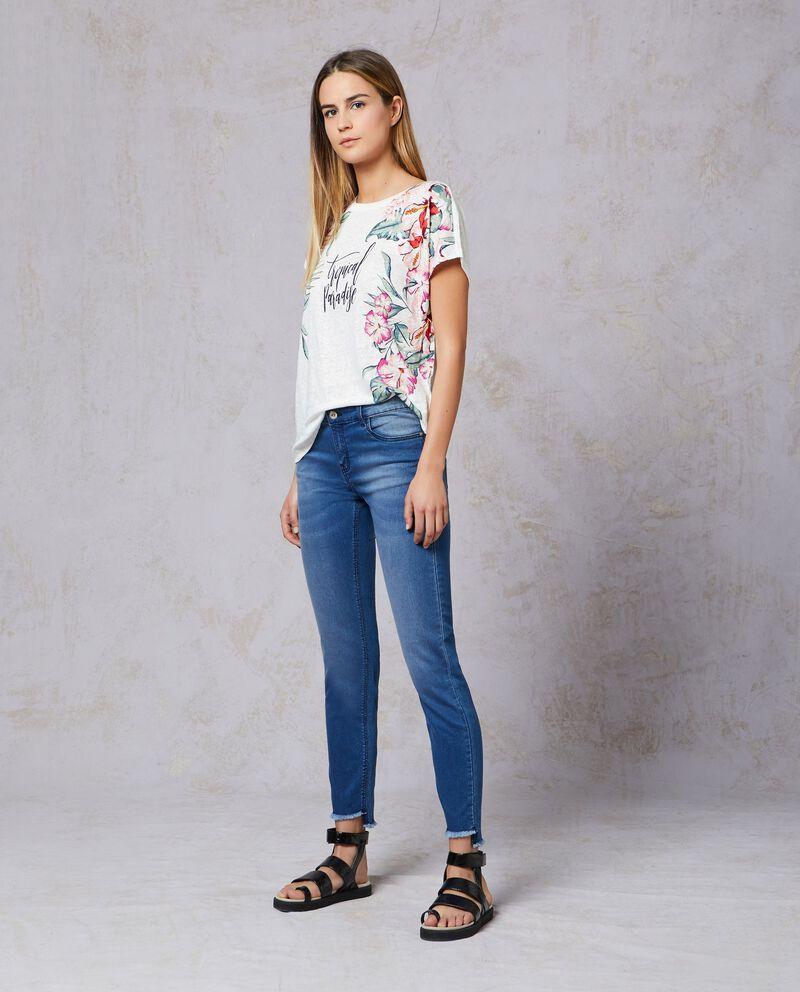 Jeans push up sfrangiati donna