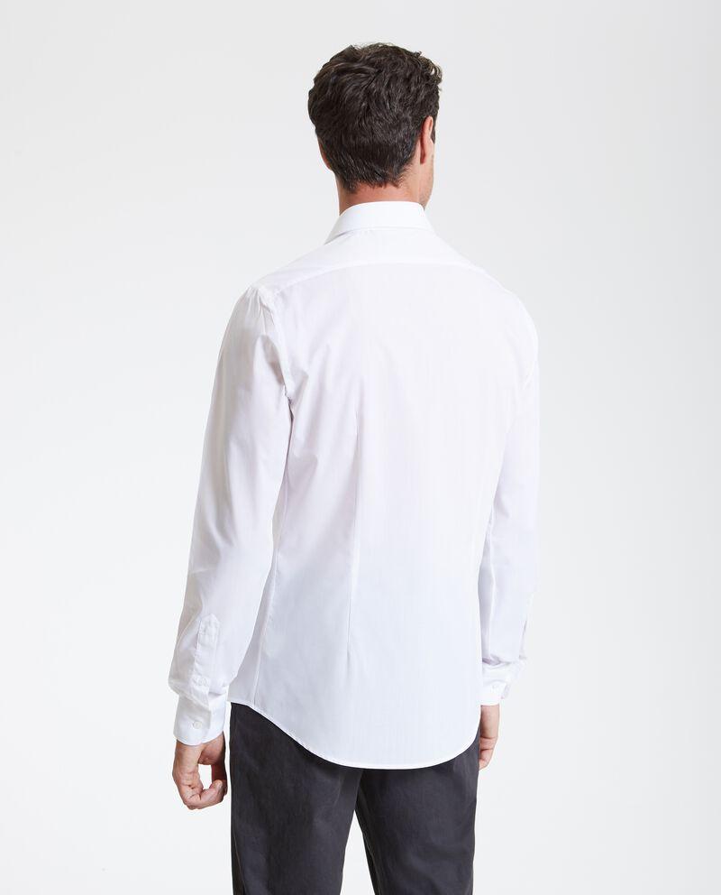 Camicia in tinta unita uomo