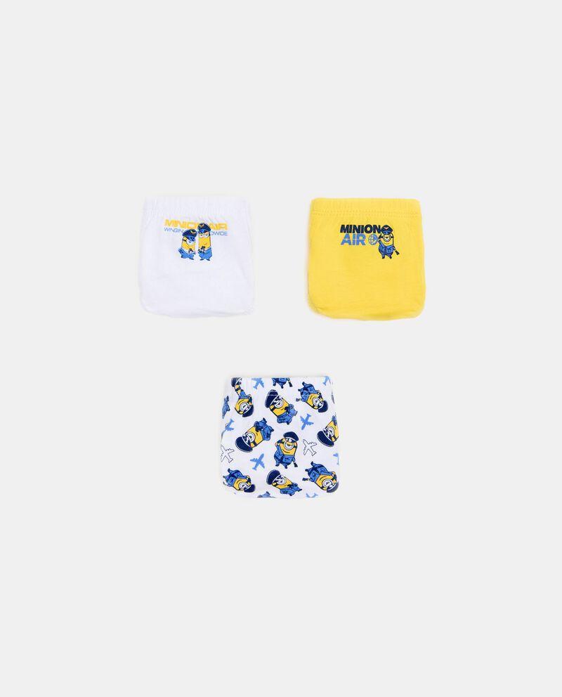 Pack con 3 slip Minion bambino cover