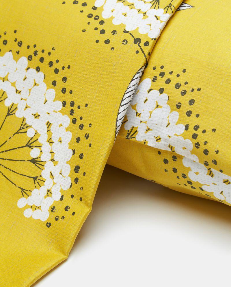 Lenzuolo in puro cotone con stampa fiori