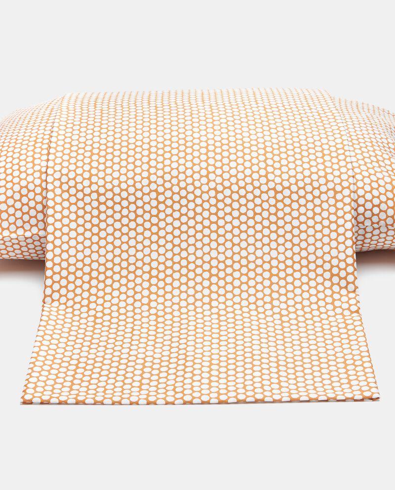 Lenzuolo dots di puro cotonedouble bordered 0
