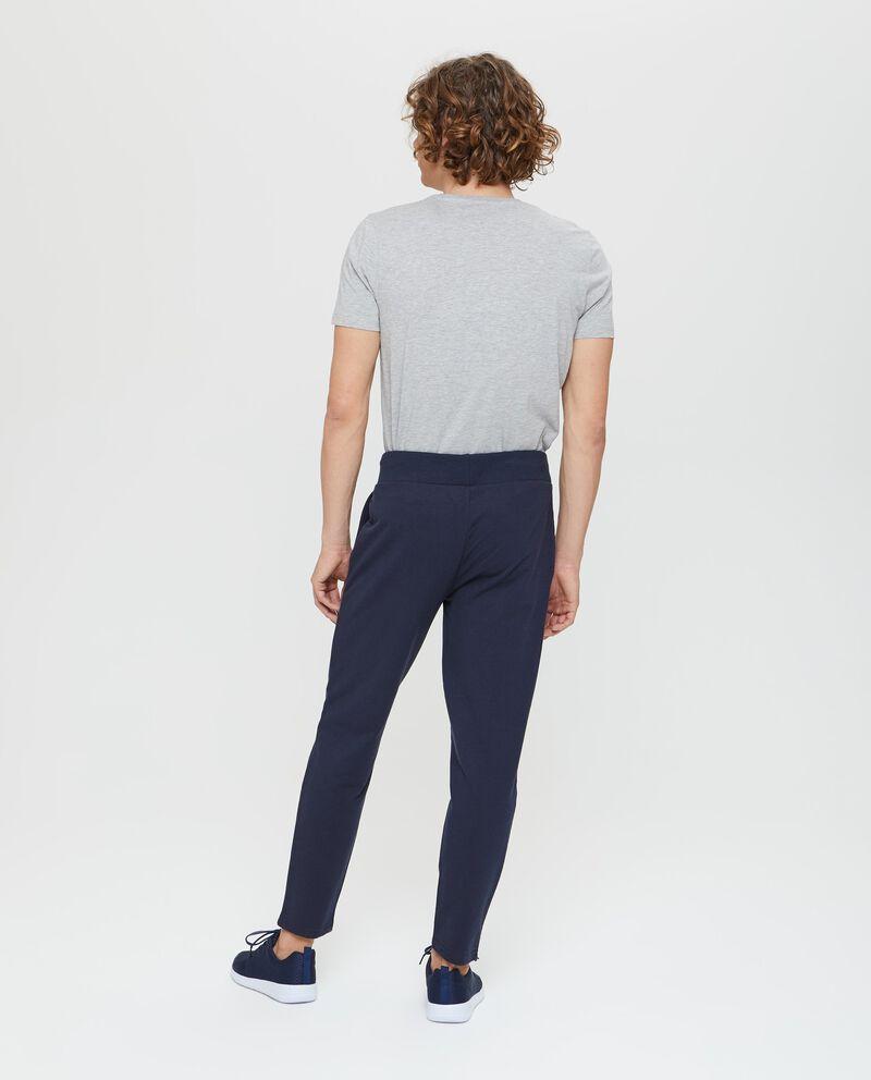 Pantaloni tuta con vita elasticata