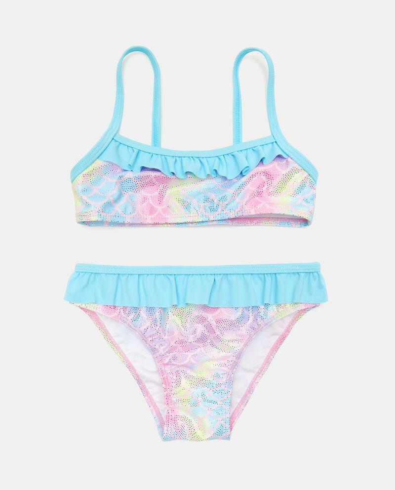 Costume bikini effetto iridescente neonata cover
