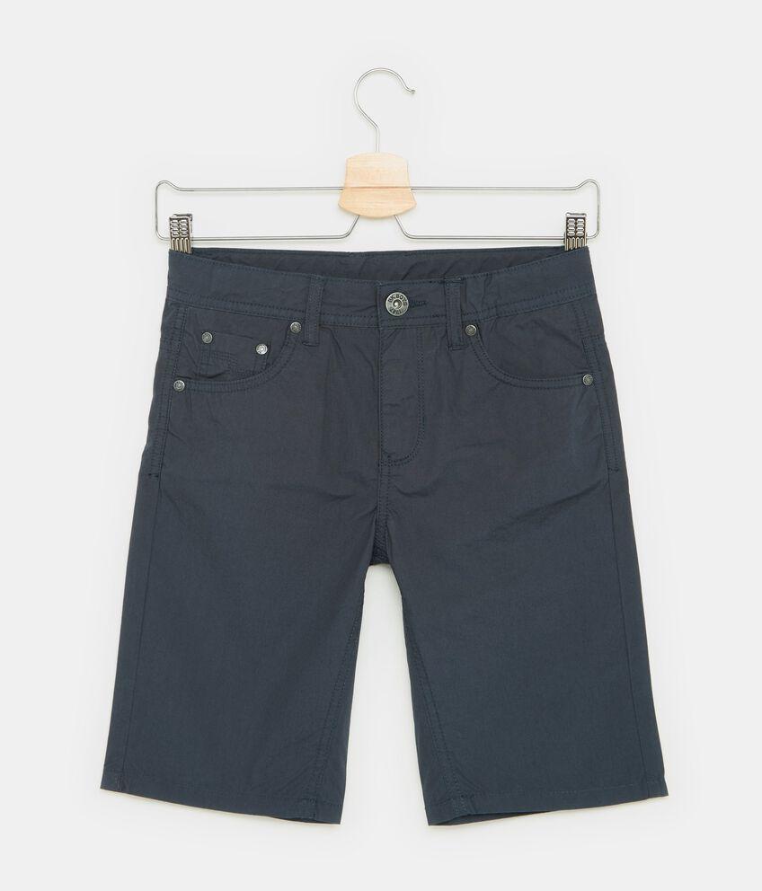 Shorts in puro cotone cinque tasche ragazzo