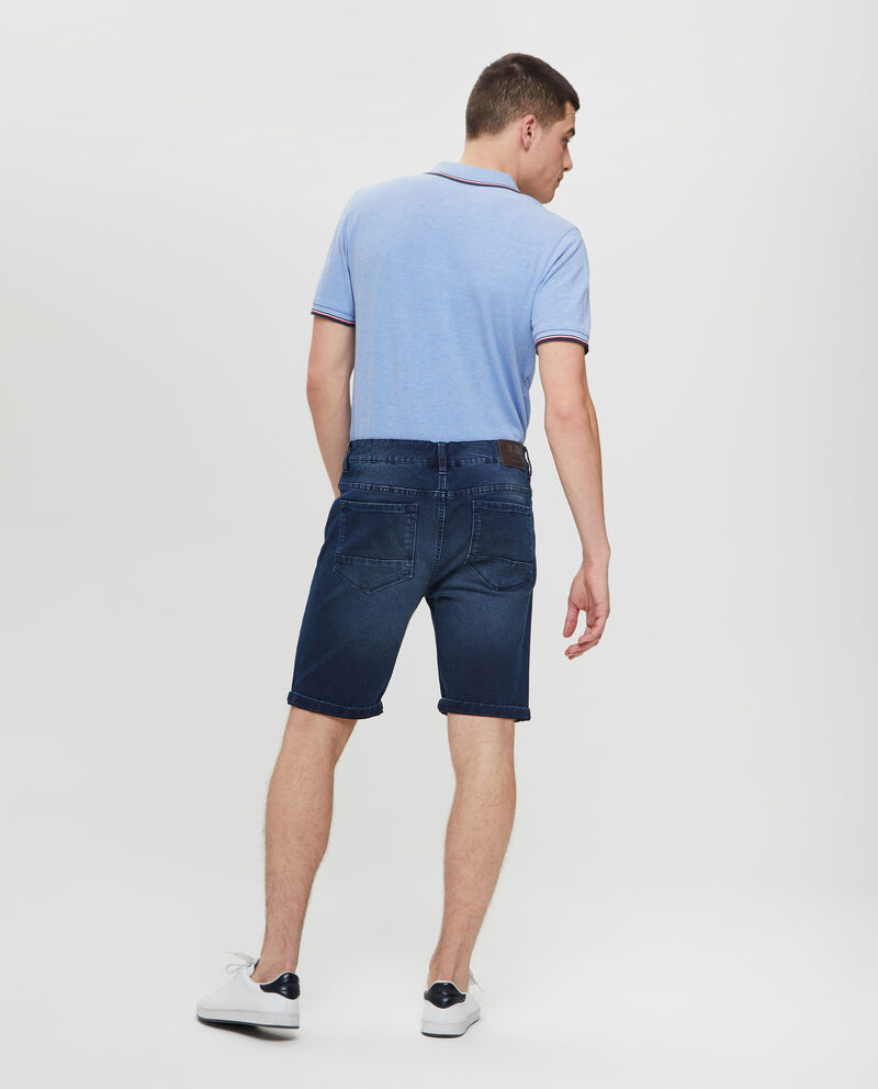 Shorts in denim slim fit stretch