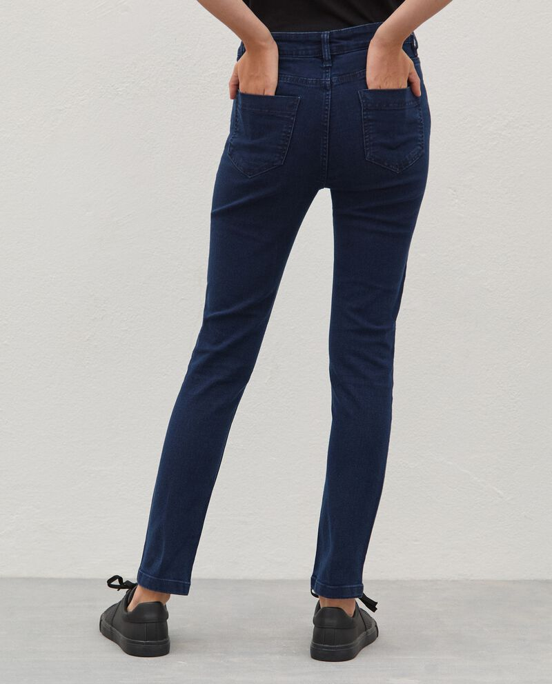 Jeans in cotone stretch slim fit single tile 1