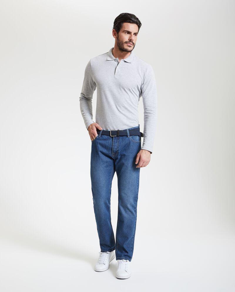 Jeans con fit straight uomo