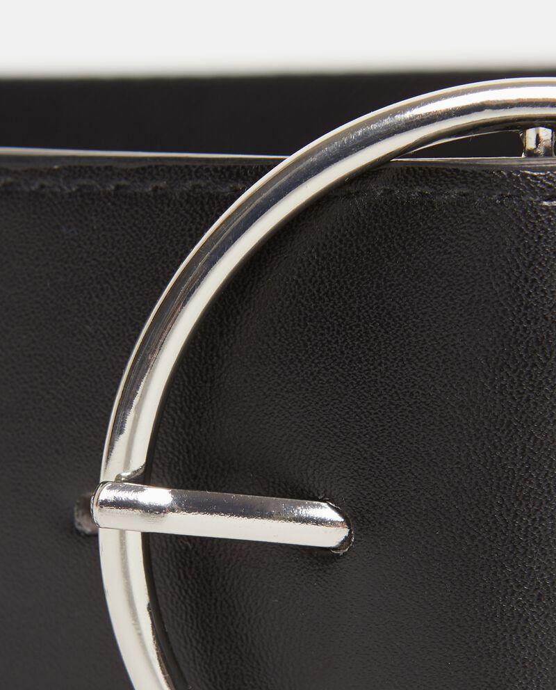 Cintura banda elastica con fibbia metallica donna
