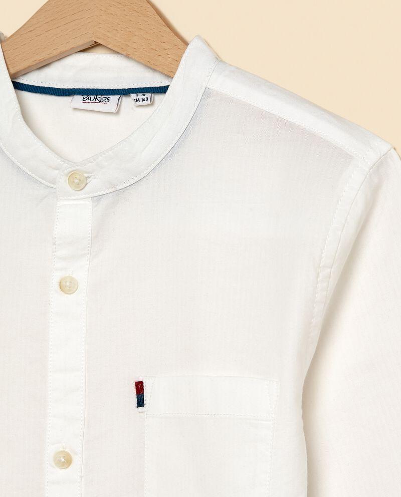 Camicia in puro cotone ragazzo