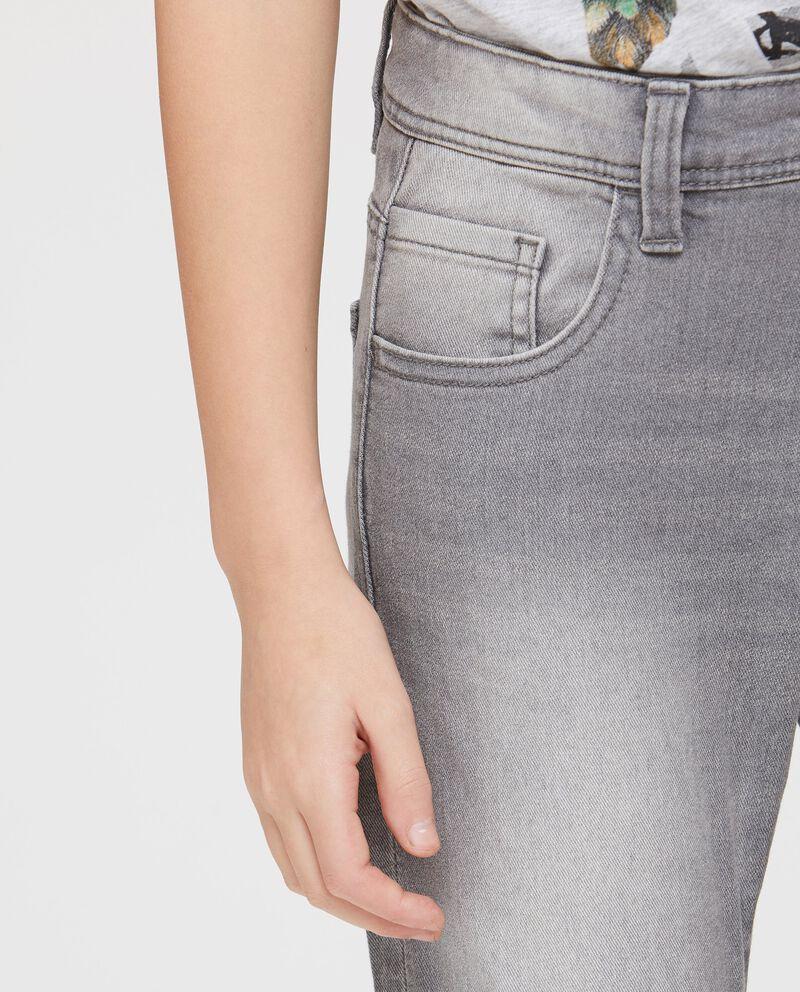 Denim skinny fit effetto used