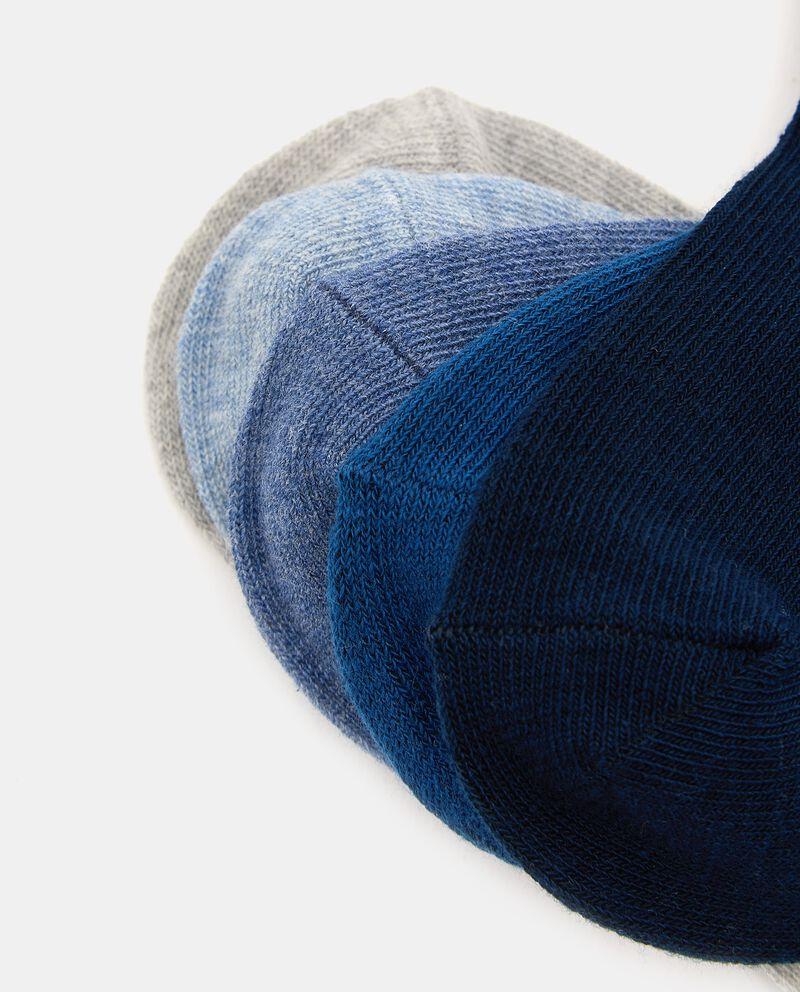 Pack con 5 paia di calzini di cotone organico bambino single tile 1