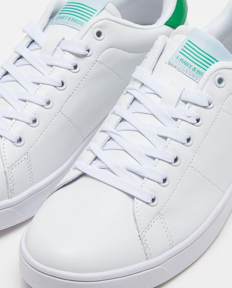 Sneakers con applicazione lettering
