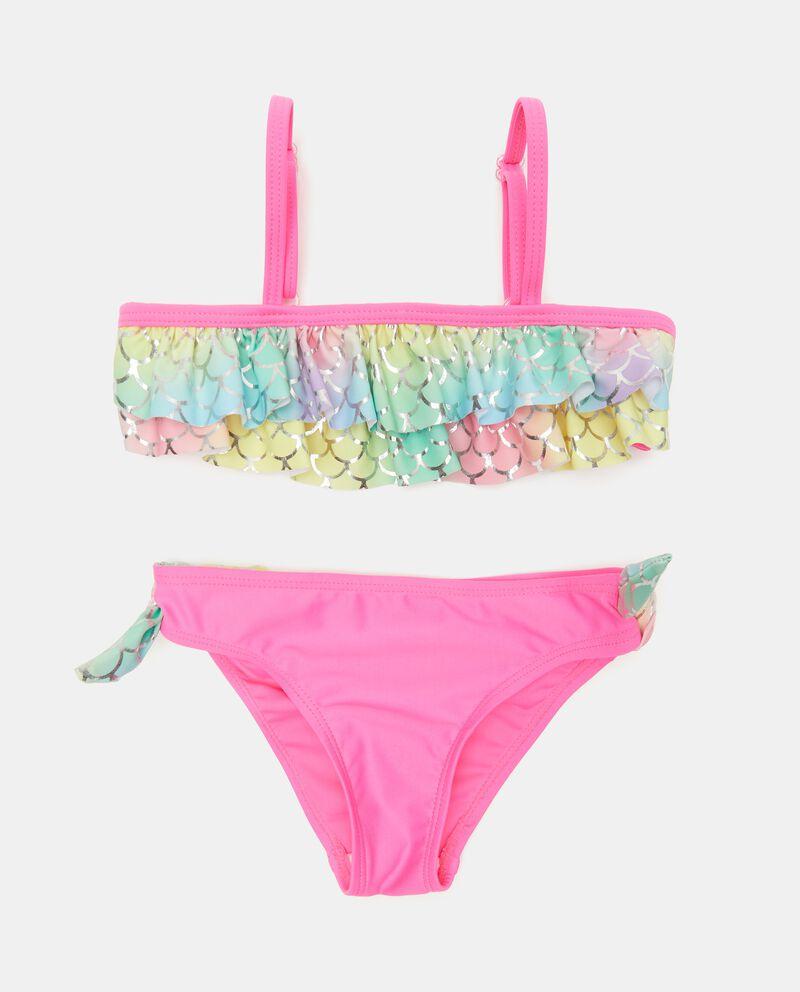 Costume bikini stampato bambina