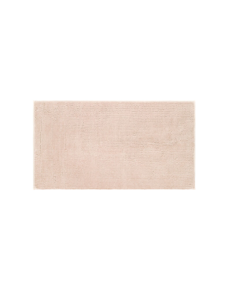 Tappeto bagno rettangolare tinta unita