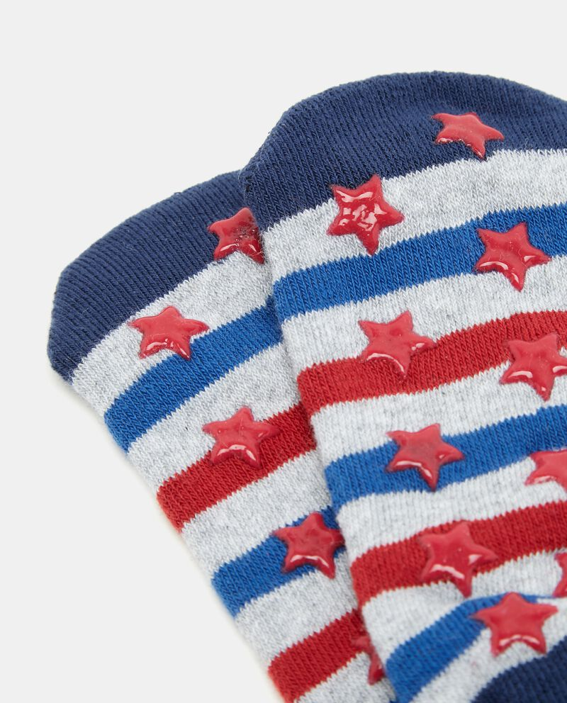 Set calzini con motivo a righe bambino