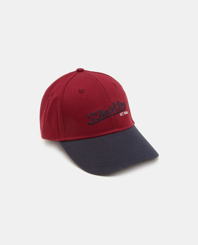 Cappello baseball in puro cotone uomo
