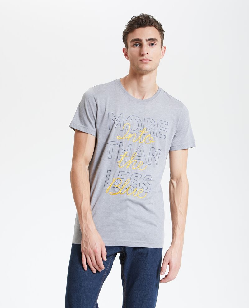 T-shirt lettering uomo