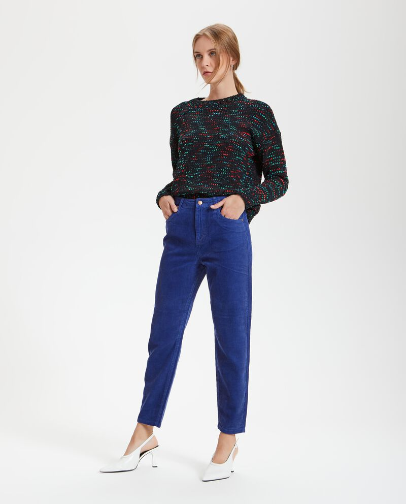 Pantaloni con righine donna