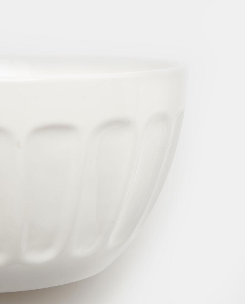 Bowl in ceramica con scanalature