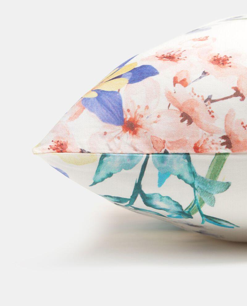 Federa in puro cotone con stampa floreale