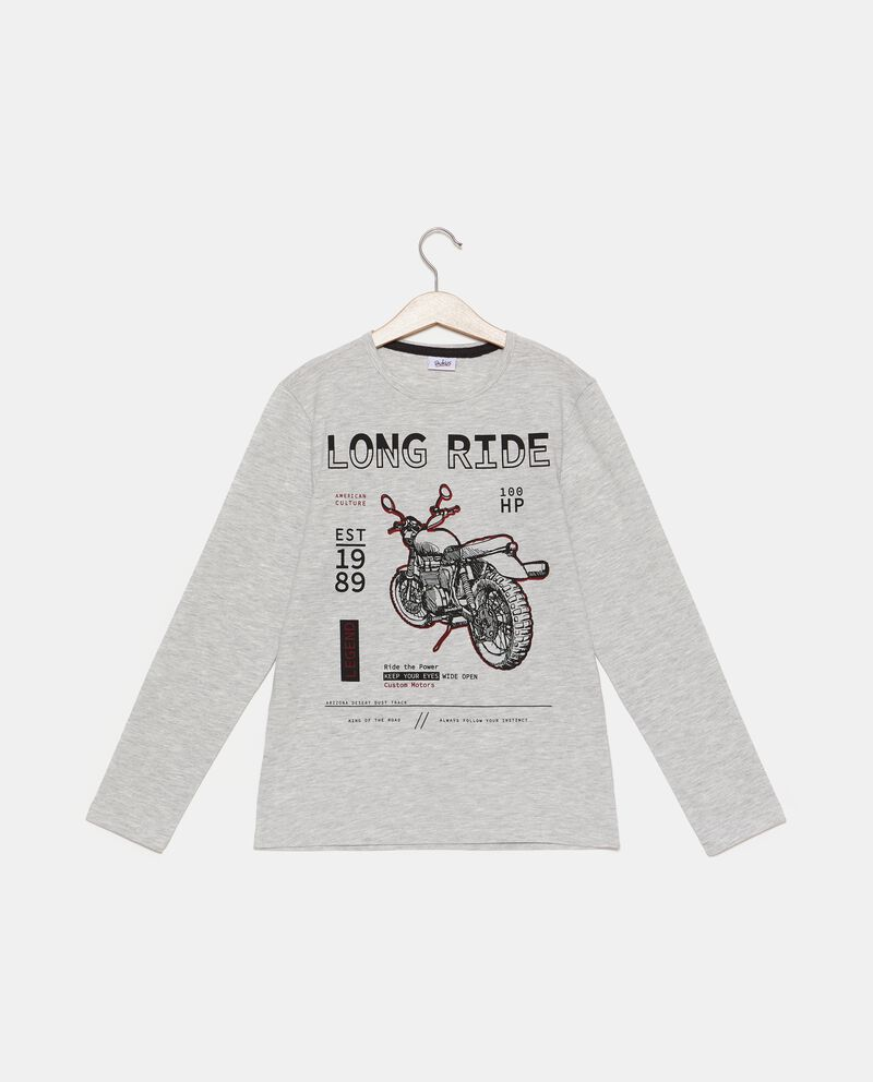 T-shirt stampa moto ragazzo