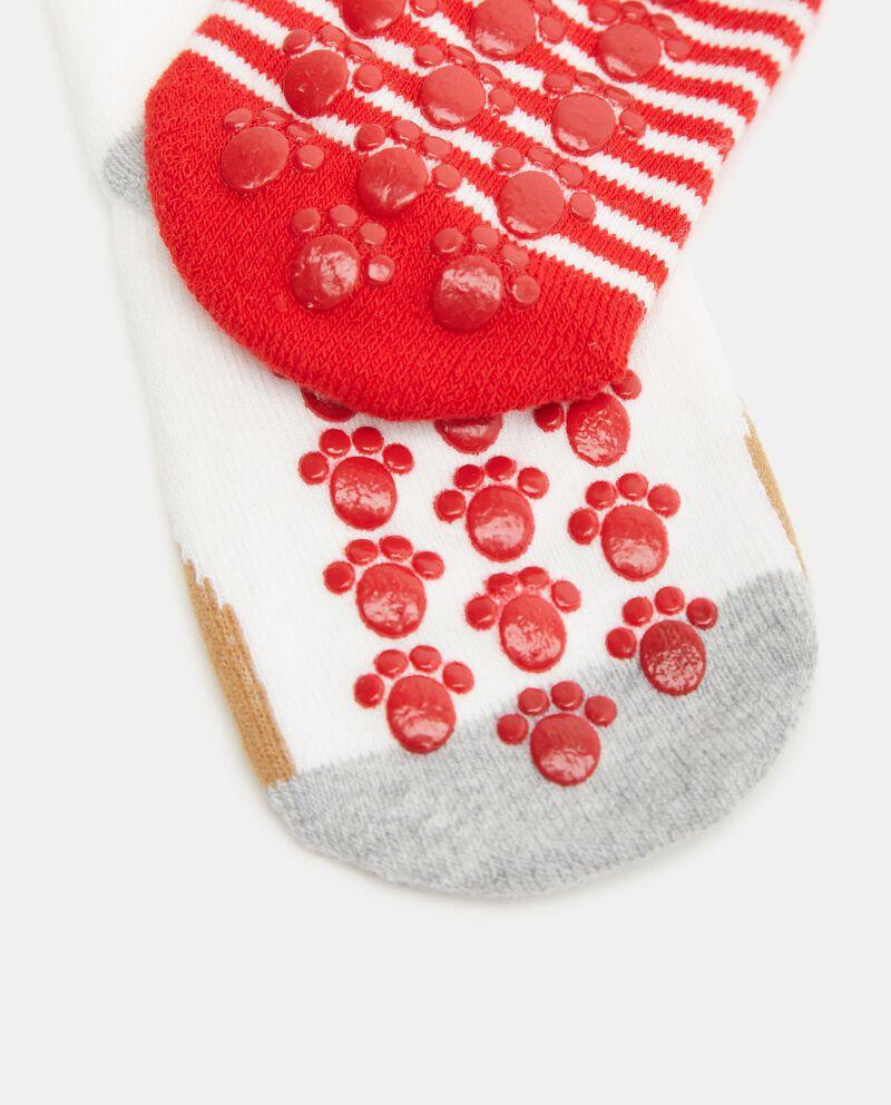 Pack con 2 paia di calzini di cotone organico neonato single tile 1