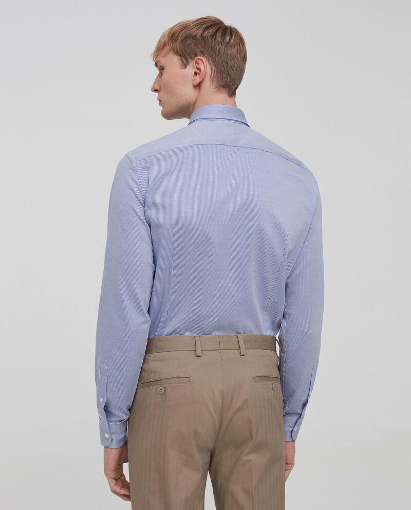 Camicia puro cotone a righe single tile 1