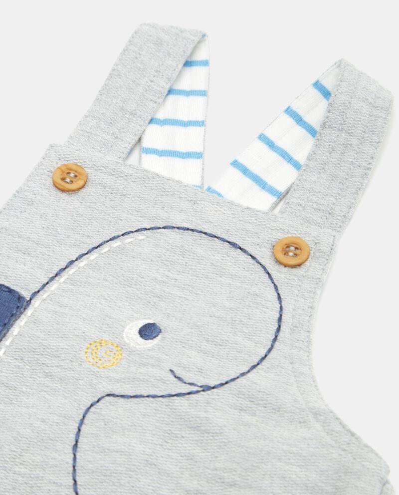 Salopette neonato morbida