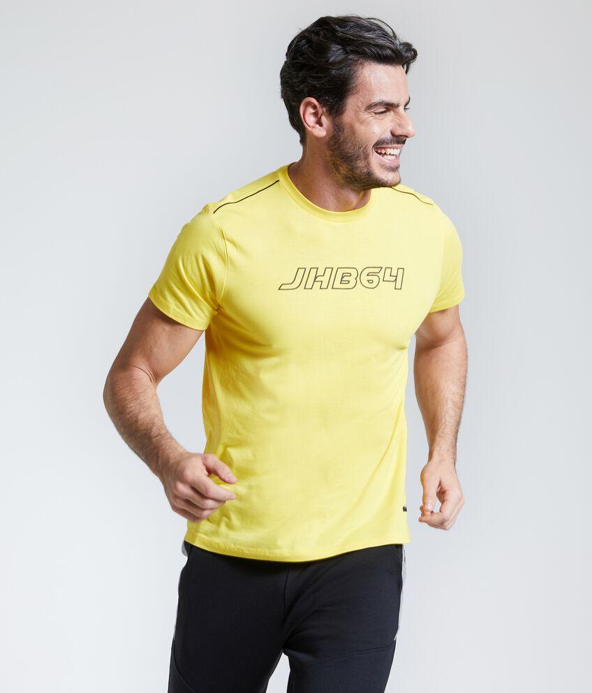 T-shirt puro cotone Fitness uomo