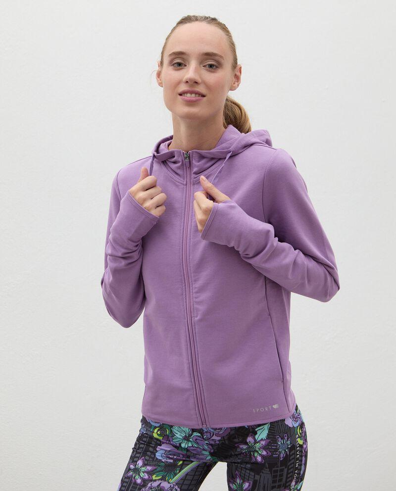 Giacca Fitness zippata donna cover