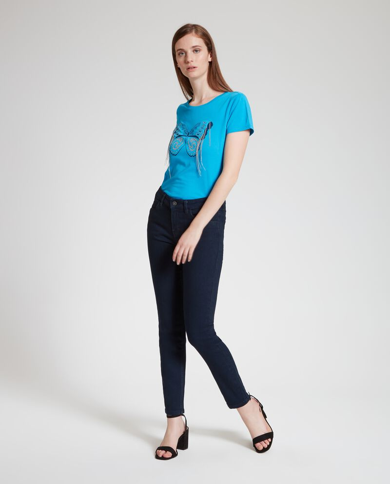 Jeans in tinta unita donna cover