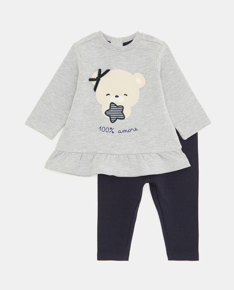 Jogging set in felpa elasticizzata neonata cover