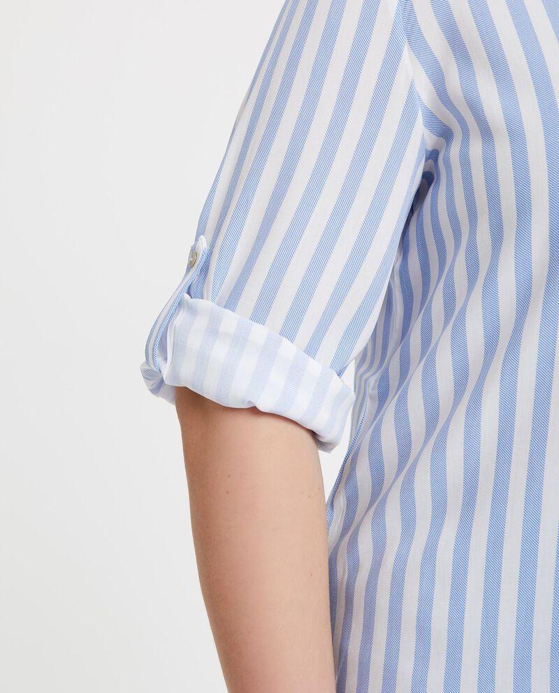 Camicia in pura viscosa a righe
