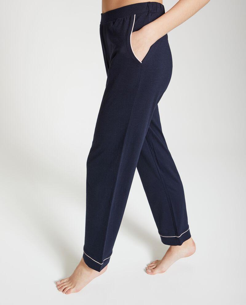 Pantaloni pigiama elegante donna
