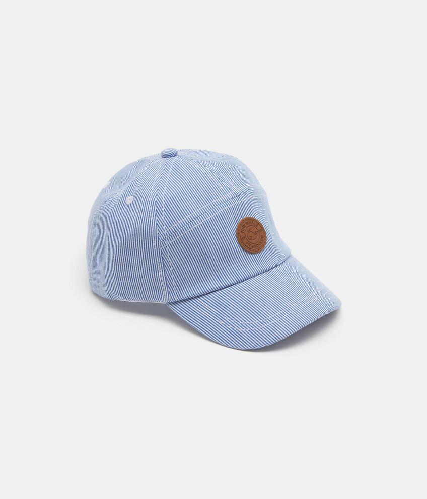 Cappellino baseball con motivo a righe bambino