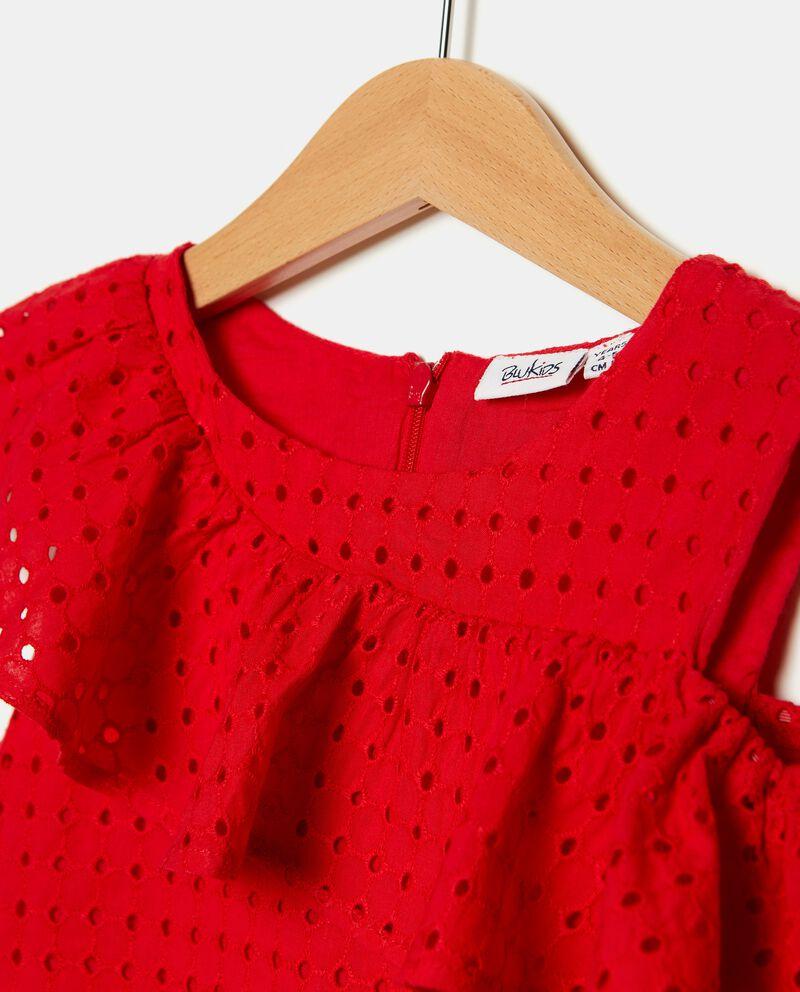 Vestito sangallo in puro cotone bambina