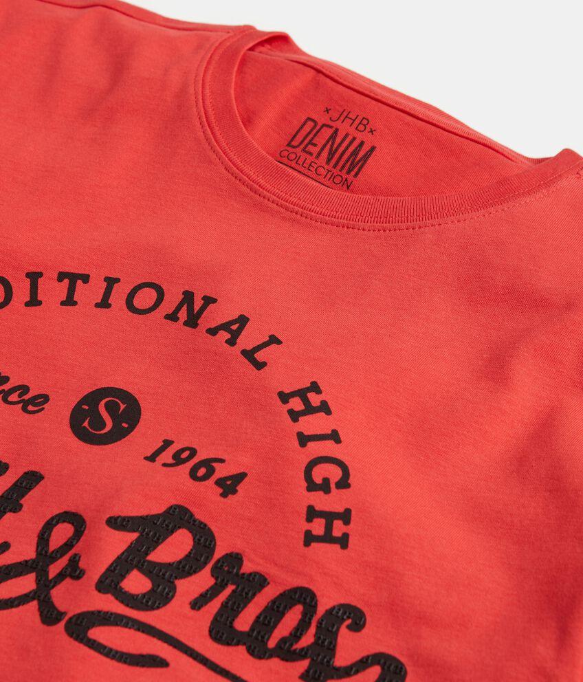 T-shirt stampata in puro cotone