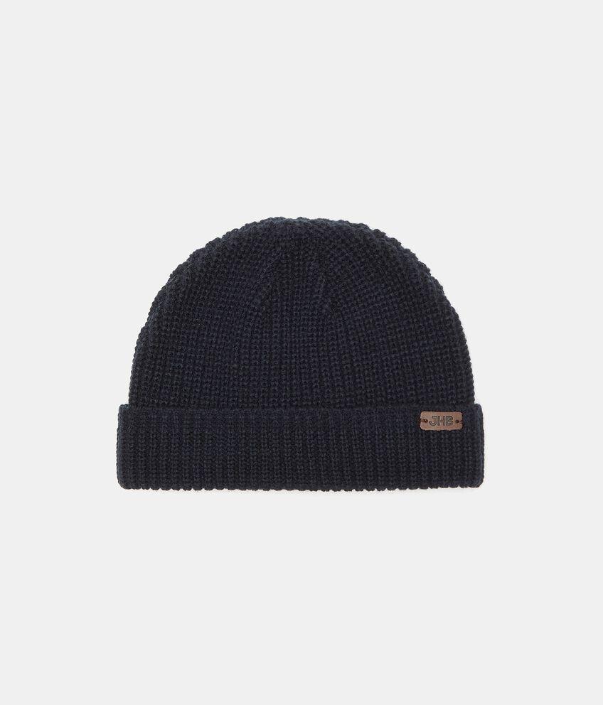 Cappello tricot a righine uomo