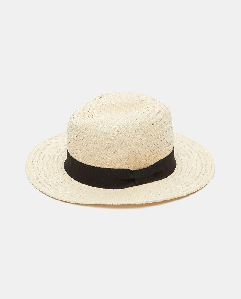 Cappello fedora con nastro donna cover