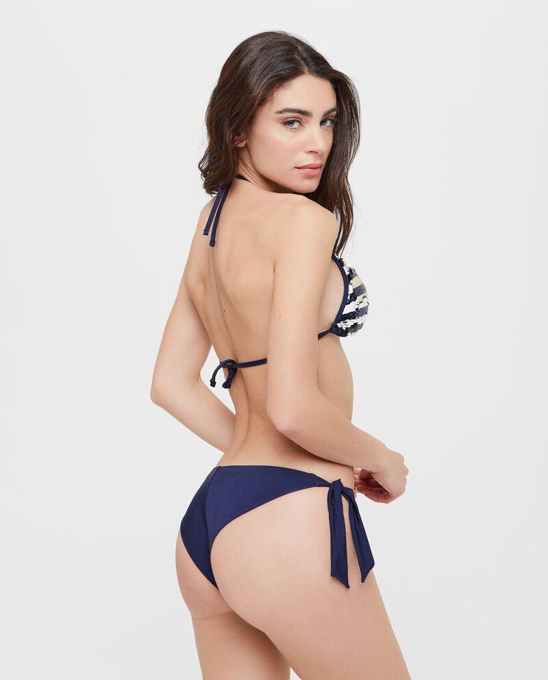 Top Bikini con paillettes