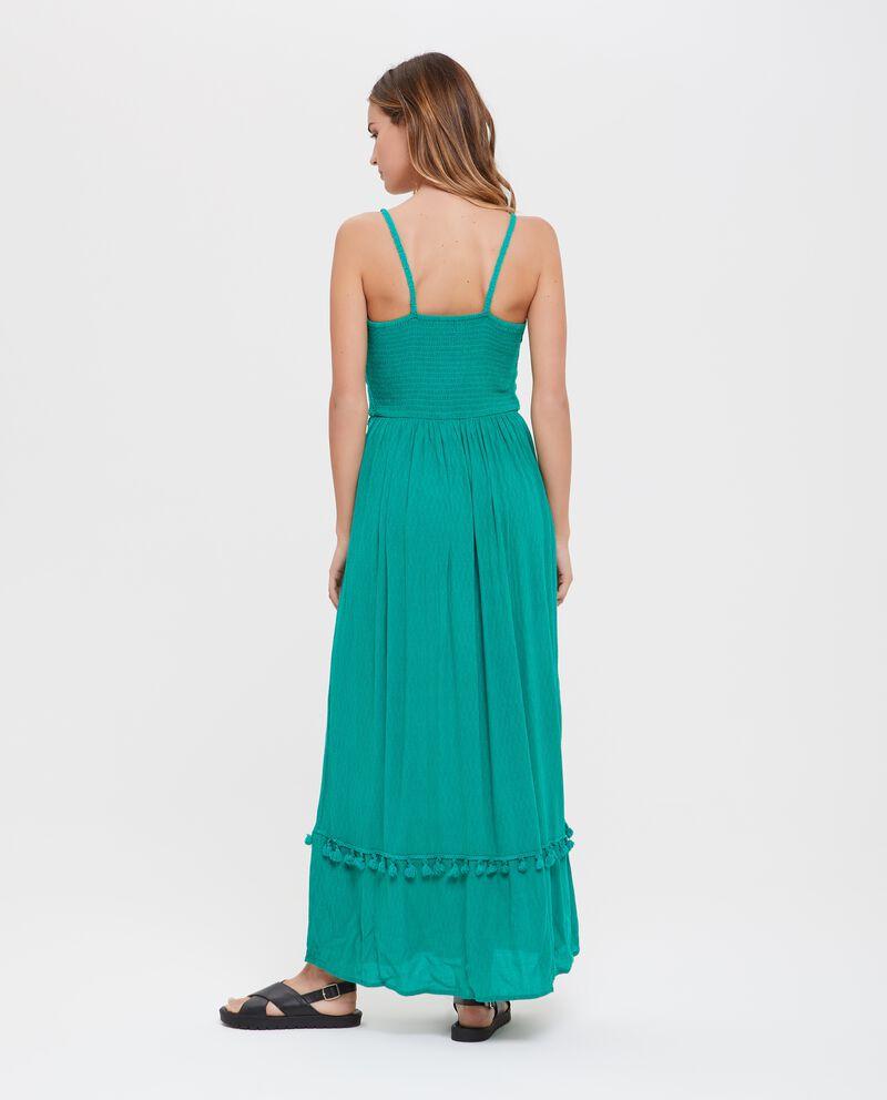 Vestito lungo donna con ricami