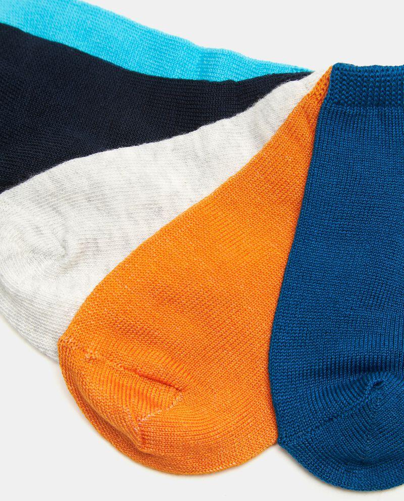 Set con 5 papa di calzini in cotone elasticizzato