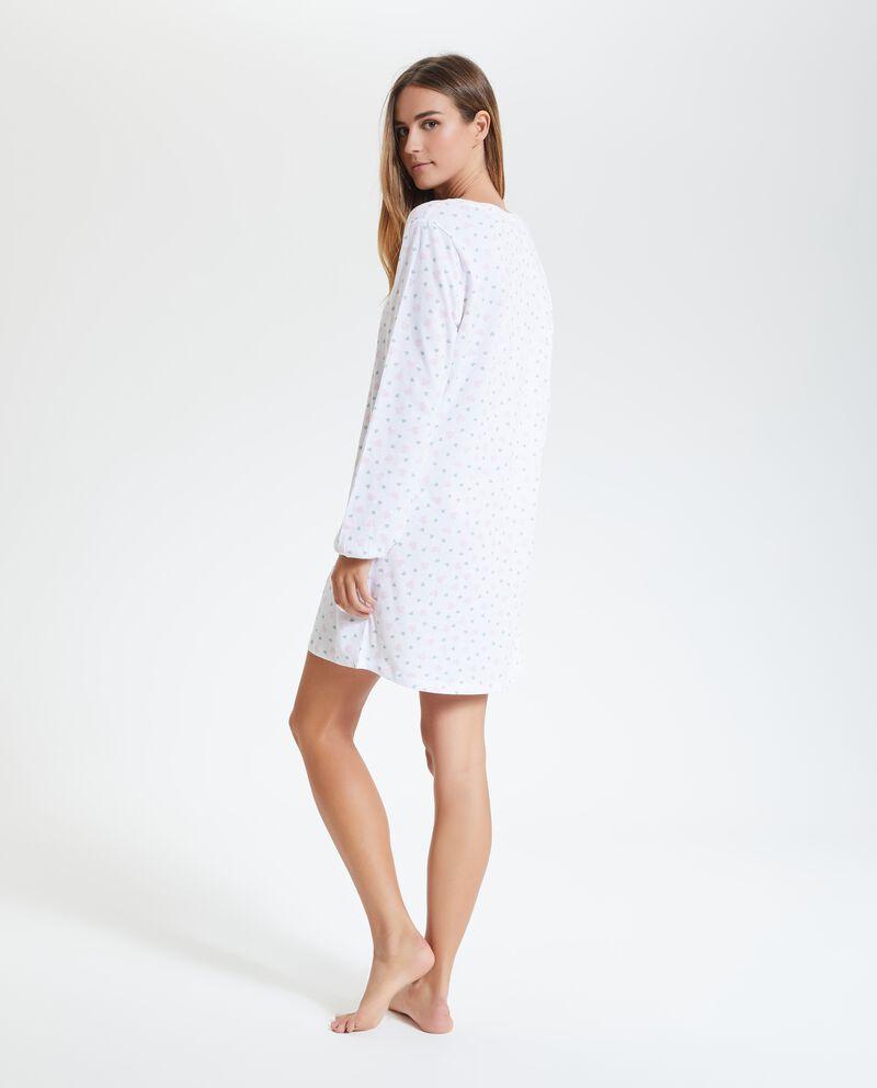 Camicia da notte puro cotone donna